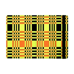 Yellow Orange And Black Background Plaid Like Background Of Halloween Colors Orange Yellow And Black Ipad Mini 2 Flip Cases