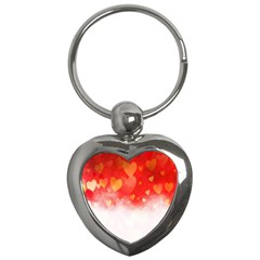 Abstract Love Heart Design Key Chains (heart)