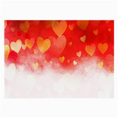 Abstract Love Heart Design Large Glasses Cloth (2-Side)