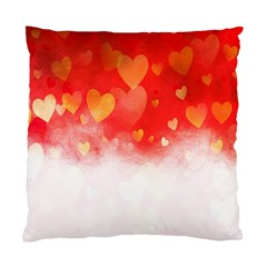 Abstract Love Heart Design Standard Cushion Case (two Sides)