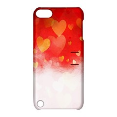 Abstract Love Heart Design Apple Ipod Touch 5 Hardshell Case With Stand