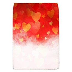 Abstract Love Heart Design Flap Covers (L)