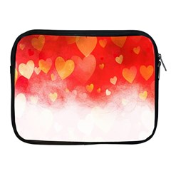 Abstract Love Heart Design Apple Ipad 2/3/4 Zipper Cases