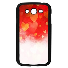 Abstract Love Heart Design Samsung Galaxy Grand DUOS I9082 Case (Black)