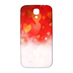 Abstract Love Heart Design Samsung Galaxy S4 I9500/i9505  Hardshell Back Case