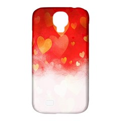 Abstract Love Heart Design Samsung Galaxy S4 Classic Hardshell Case (pc+silicone)