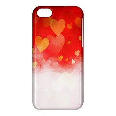 Abstract Love Heart Design Apple iPhone 5C Hardshell Case