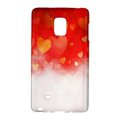 Abstract Love Heart Design Galaxy Note Edge
