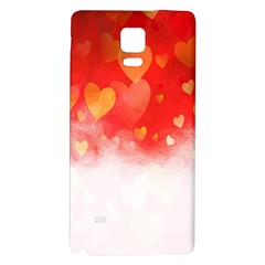 Abstract Love Heart Design Galaxy Note 4 Back Case