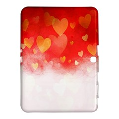 Abstract Love Heart Design Samsung Galaxy Tab 4 (10 1 ) Hardshell Case