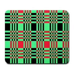 Bright Christmas Abstract Background Christmas Colors Of Red Green And Black Make Up This Abstract Large Mousepads