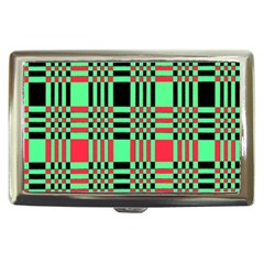 Bright Christmas Abstract Background Christmas Colors Of Red Green And Black Make Up This Abstract Cigarette Money Cases