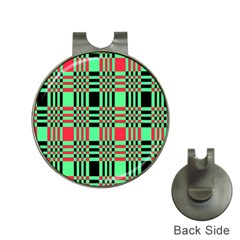 Bright Christmas Abstract Background Christmas Colors Of Red Green And Black Make Up This Abstract Hat Clips With Golf Markers