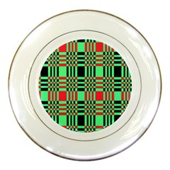 Bright Christmas Abstract Background Christmas Colors Of Red Green And Black Make Up This Abstract Porcelain Plates