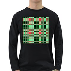 Bright Christmas Abstract Background Christmas Colors Of Red Green And Black Make Up This Abstract Long Sleeve Dark T Shirts