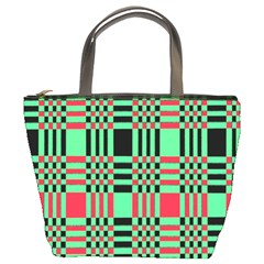 Bright Christmas Abstract Background Christmas Colors Of Red Green And Black Make Up This Abstract Bucket Bags