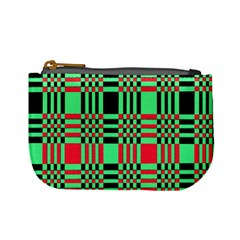 Bright Christmas Abstract Background Christmas Colors Of Red Green And Black Make Up This Abstract Mini Coin Purses
