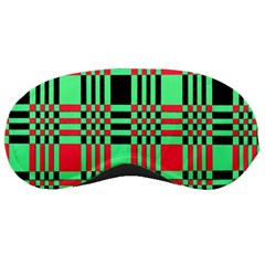 Bright Christmas Abstract Background Christmas Colors Of Red Green And Black Make Up This Abstract Sleeping Masks