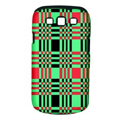 Bright Christmas Abstract Background Christmas Colors Of Red Green And Black Make Up This Abstract Samsung Galaxy S III Classic Hardshell Case (PC+Silicone)