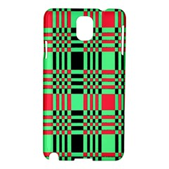 Bright Christmas Abstract Background Christmas Colors Of Red Green And Black Make Up This Abstract Samsung Galaxy Note 3 N9005 Hardshell Case