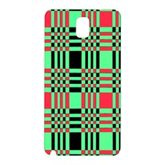 Bright Christmas Abstract Background Christmas Colors Of Red Green And Black Make Up This Abstract Samsung Galaxy Note 3 N9005 Hardshell Back Case