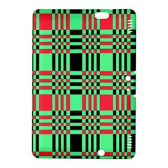 Bright Christmas Abstract Background Christmas Colors Of Red Green And Black Make Up This Abstract Kindle Fire HDX 8.9  Hardshell Case