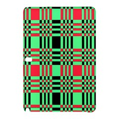 Bright Christmas Abstract Background Christmas Colors Of Red Green And Black Make Up This Abstract Samsung Galaxy Tab Pro 10.1 Hardshell Case