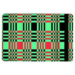 Bright Christmas Abstract Background Christmas Colors Of Red Green And Black Make Up This Abstract Ipad Air Flip