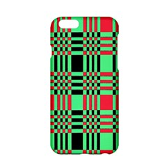 Bright Christmas Abstract Background Christmas Colors Of Red Green And Black Make Up This Abstract Apple Iphone 6/6s Hardshell Case