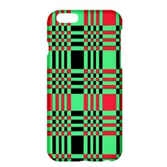 Bright Christmas Abstract Background Christmas Colors Of Red Green And Black Make Up This Abstract Apple Iphone 6 Plus/6s Plus Hardshell Case