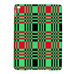Bright Christmas Abstract Background Christmas Colors Of Red Green And Black Make Up This Abstract Ipad Air 2 Hardshell Cases