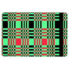 Bright Christmas Abstract Background Christmas Colors Of Red Green And Black Make Up This Abstract Ipad Air 2 Flip