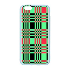 Bright Christmas Abstract Background Christmas Colors Of Red Green And Black Make Up This Abstract Apple Seamless iPhone 6/6S Case (Color)