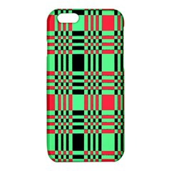 Bright Christmas Abstract Background Christmas Colors Of Red Green And Black Make Up This Abstract iPhone 6/6S TPU Case