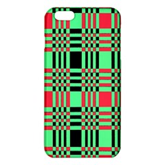 Bright Christmas Abstract Background Christmas Colors Of Red Green And Black Make Up This Abstract Iphone 6 Plus/6s Plus Tpu Case
