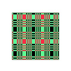 Bright Christmas Abstract Background Christmas Colors Of Red Green And Black Make Up This Abstract Satin Bandana Scarf