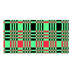 Bright Christmas Abstract Background Christmas Colors Of Red Green And Black Make Up This Abstract Satin Shawl