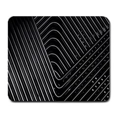 Chrome Abstract Pile Of Chrome Chairs Detail Large Mousepads