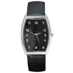 Chrome Abstract Pile Of Chrome Chairs Detail Barrel Style Metal Watch