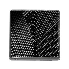 Chrome Abstract Pile Of Chrome Chairs Detail Memory Card Reader (square)