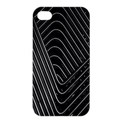 Chrome Abstract Pile Of Chrome Chairs Detail Apple iPhone 4/4S Premium Hardshell Case