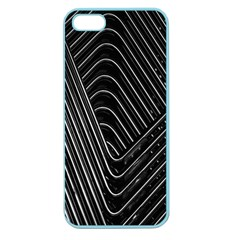 Chrome Abstract Pile Of Chrome Chairs Detail Apple Seamless iPhone 5 Case (Color)