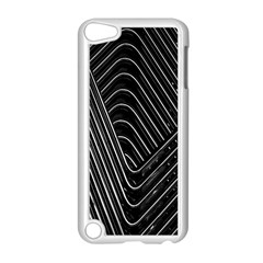 Chrome Abstract Pile Of Chrome Chairs Detail Apple Ipod Touch 5 Case (white)
