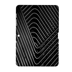 Chrome Abstract Pile Of Chrome Chairs Detail Samsung Galaxy Tab 2 (10.1 ) P5100 Hardshell Case