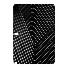 Chrome Abstract Pile Of Chrome Chairs Detail Samsung Galaxy Tab Pro 12.2 Hardshell Case