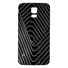 Chrome Abstract Pile Of Chrome Chairs Detail Samsung Galaxy S5 Back Case (white)