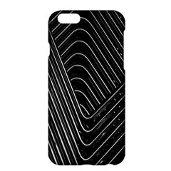 Chrome Abstract Pile Of Chrome Chairs Detail Apple iPhone 6 Plus/6S Plus Hardshell Case