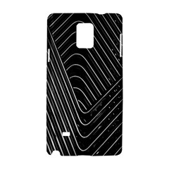 Chrome Abstract Pile Of Chrome Chairs Detail Samsung Galaxy Note 4 Hardshell Case