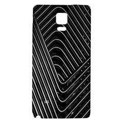 Chrome Abstract Pile Of Chrome Chairs Detail Galaxy Note 4 Back Case