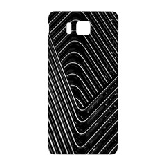 Chrome Abstract Pile Of Chrome Chairs Detail Samsung Galaxy Alpha Hardshell Back Case
